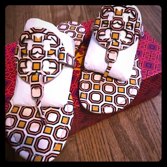 161284dba8513e BNWB Tory Burch Miller Patent Leather Sandel